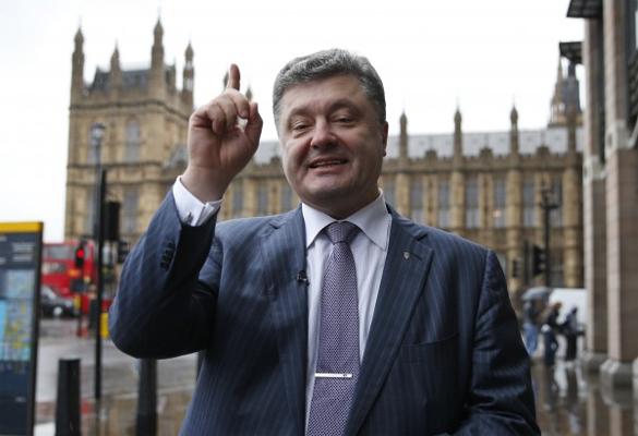 Порошенко агрессивен, как и вся Украина. На Украине выбран новый президент