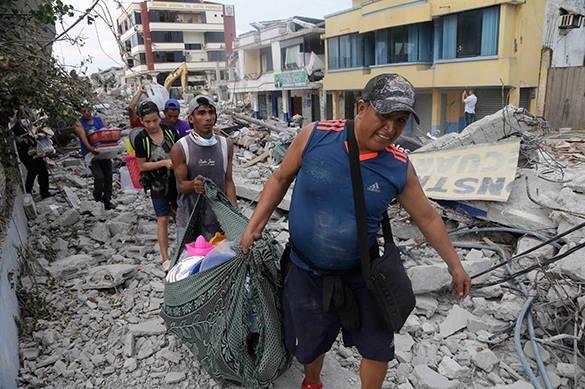 В Эквадоре - новое землетрясение