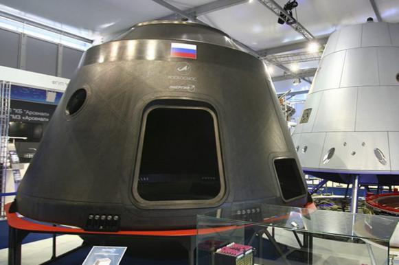 """Россия тестирует макет нового космического корабля """"Федерация"""". Россия тестирует макет нового космического корабля Федерация"""