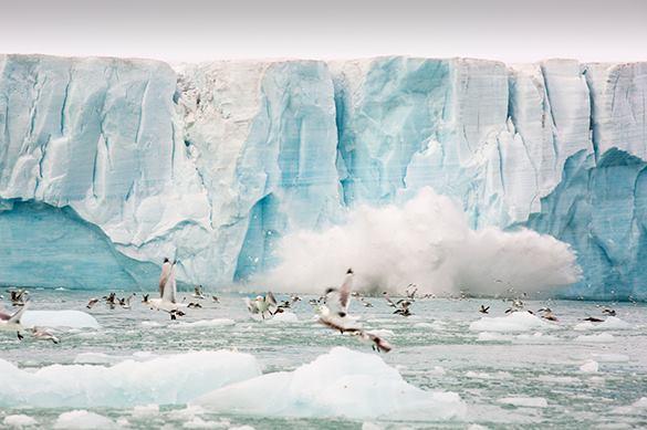 Арктика идет на рекорд: высокие температуры повлияли на льды нео