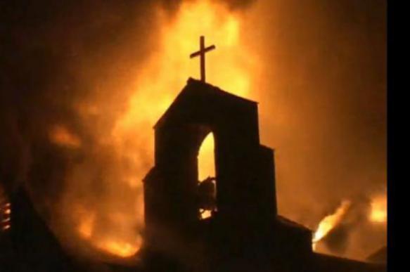 Ничего святого: в Киеве подожгли храм. 385507.jpeg