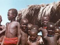 Сомалийские дети страдают от недоедания