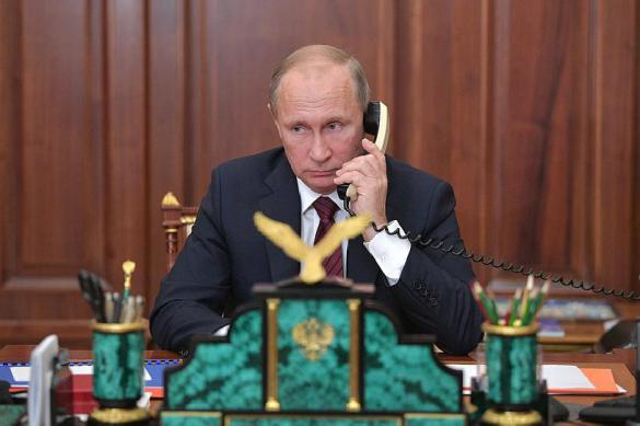 Президент Южной Кореи отчитался Путину о переговорах с Ким Чен Ыном. Президент Южной Кореи отчитался Путину о переговорах с Ким Чен Ы