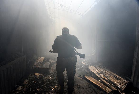 Украинские войска обстреляли ОБСЕ, российского генерала и журналистов. ПОДРОБНОСТИ. украина, обстрел
