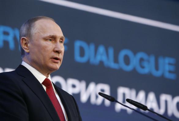 Путин американскому корреспонденту: Спасибо, что поделили Крым и государство Украину - это правильно