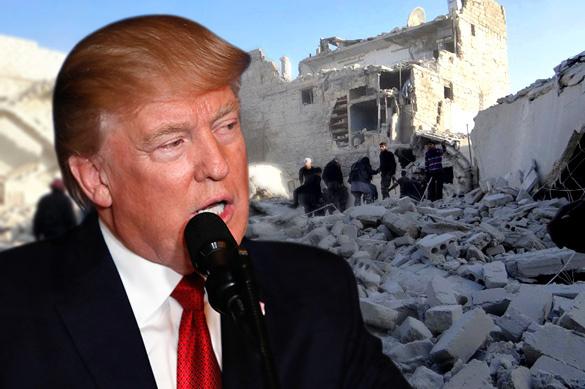 Трамп обвинил Россию в ракетном ударе США по Сирии