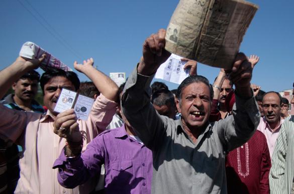 Индийские выборы перевалили экватор. В Индии проходят парламентские выборы