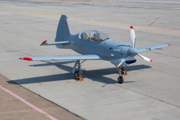 Як-152 приучит курсантов к небу. 383513.jpeg