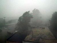 Смерч сорвал десятки крыш с домов в грузинском Поти