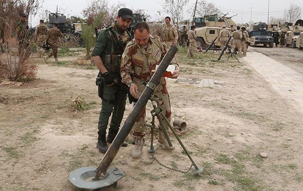 В Тикрите армия ждет подкрепления правительственных войск. Тикрит, иракская армия