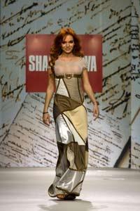 Шаповалова представила новую коллекцию «Весна-Лето 2009»