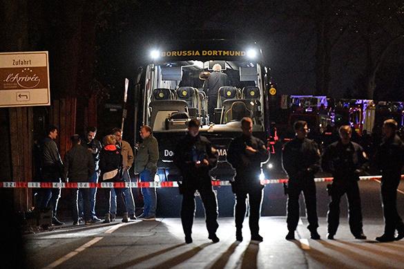 Германия объяснила взрывы спланированной атакой на ФК Боруссию