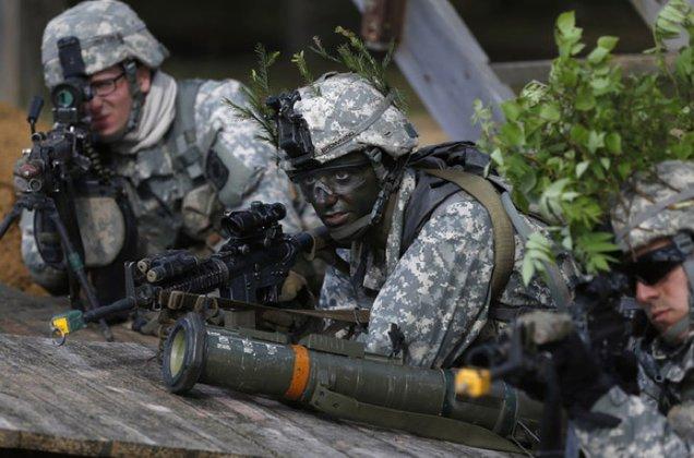 Госдеп пообещал помочь Украине построить независимую и процветающую страну. Американские военные, НАТО