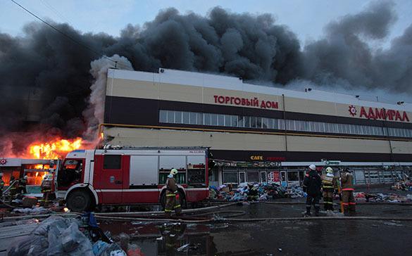 14 марта в Татарстане объявлен днем траура. Пожар в Адмирале в Казани
