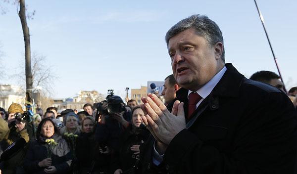 Порошенко: Продать липецкую фабрику Roshen не дает российская власть. порошенко украина президент
