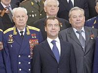 Медведев - ветеранам: вы повернули ход мировой истории