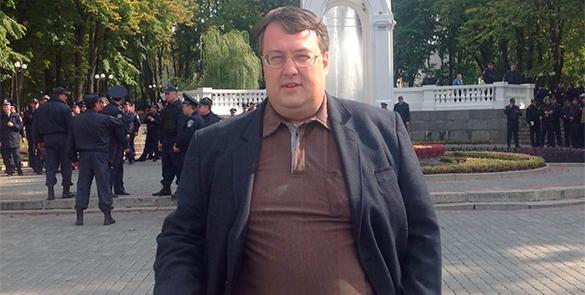 Геращенко: С Донбассом надо не говорить, а воевать. антон геращенко