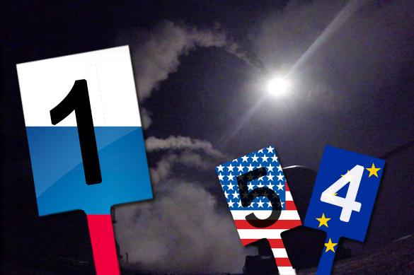 Минобороны России: удары США по сирийской авиабазе сделаны на пу