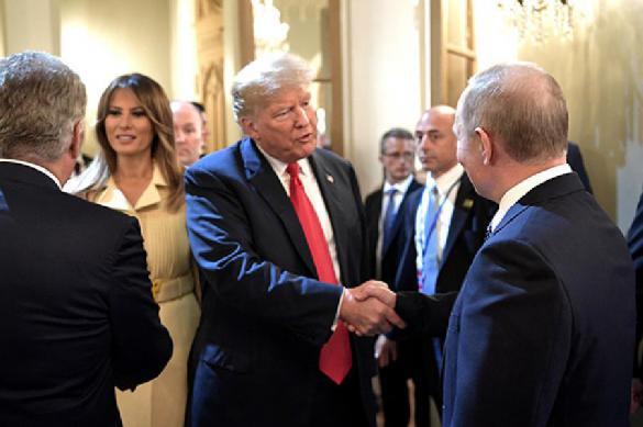 СМИ раскрыли темы личной беседы Путина и Трампа в Хельсинки. 390524.jpeg