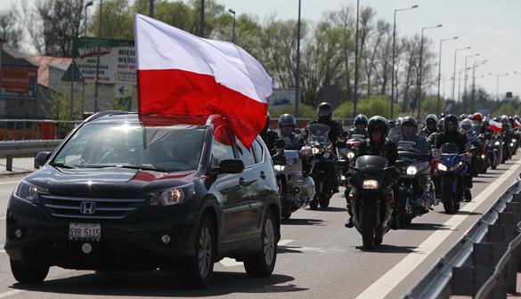 Варшава: Российские байкеры угрожают безопасности страны. Российские байкеры