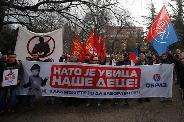 Картинки по запросу сербия и нато