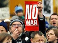 В Голливуде прошел марш против войны в Ираке