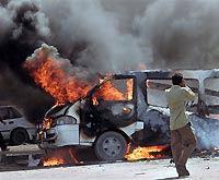 Смертник подорвал полицейских в Ираке