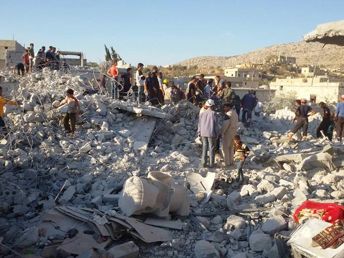 Пентагон не признает факта гибели мирного населения во время авиаударов  в Сирии. Пентагон не признает факта гибели мирного населения во время ави