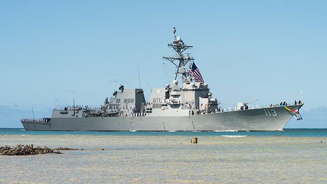 """США вооружились новым эсминцем """"Джон Финн"""". США вооружились новым эсминцем Джон Финн"""
