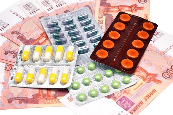 В России цены на лекарства снизились на 2,3проц.