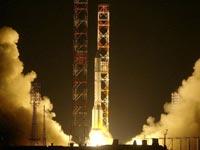 С Байконура стартовала ракета со спутником связи для Азии