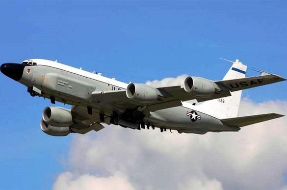 Американский самолёт слетал наразведку кКрыму