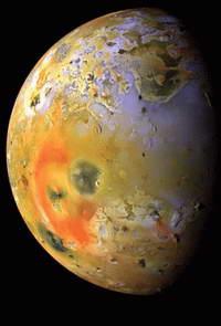 Ио – эпицентр Солнечной системы