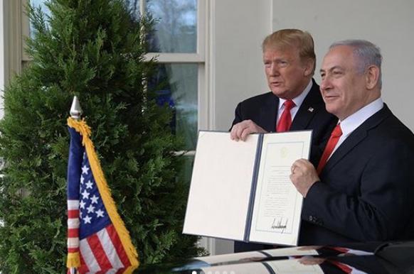 Нетаньяху представил Трампу и Путину свой план по Сирии.