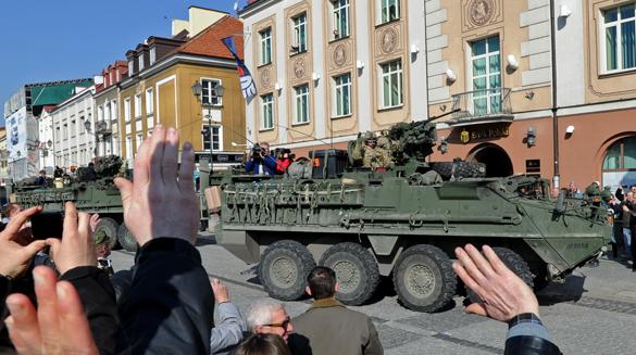 Американские военные переброшены в Европу для учений. Американские военные переброшены в Европу для учений