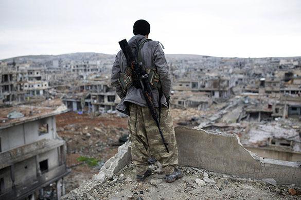 США начало поставку курдам тяжелого оружия