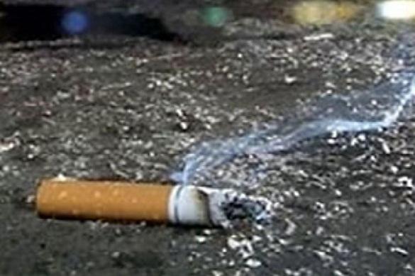 """Архангелогородка попыталась затушить сигарету в """"пепельнице"""" с порохом. 376538.jpeg"""