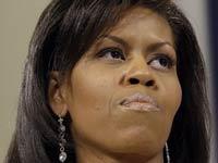 Снег помешал Мишель Обаме пробраться в библиотеку