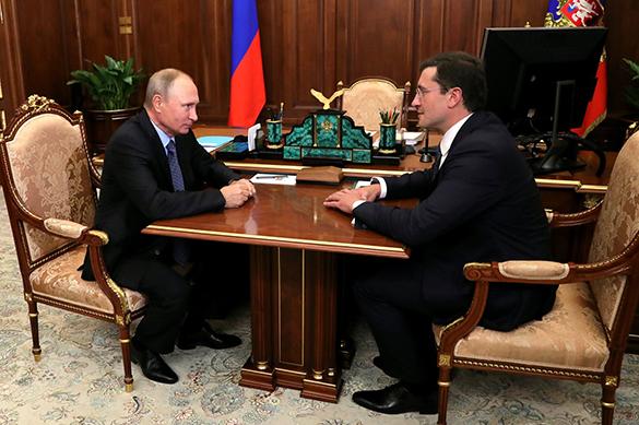 В Нижегородской области освободил кабинет губернатор Шанцев. В Нижегородской области освободил кабинет губернатор Шанцев