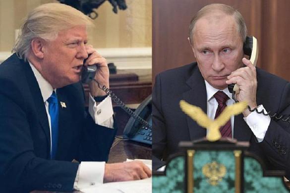 Трамп подтвердил намерение встретиться с Путиным даже после санкций. Трамп подтвердил намерение встретиться с Путиным даже после санк