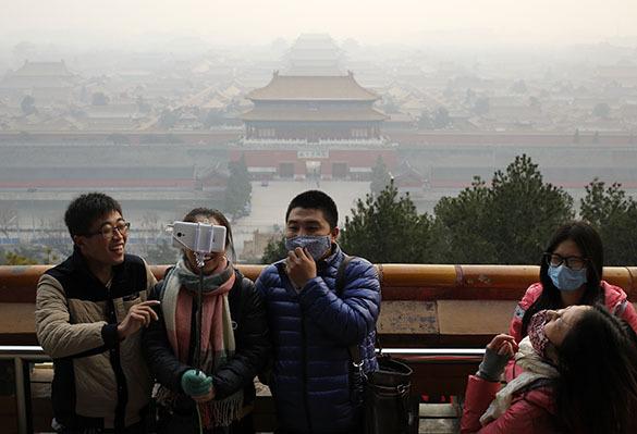 Насколько загрязнен воздух китайцы будут узнавать при помощи дро