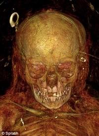 Ученые увидели мумий насквозь