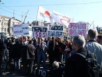 Жители Владивостока провели акцию против высоких пошлин на
