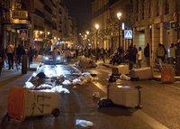 Всеобщая забастовка парализовала Испанию. Мадрид