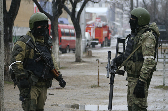 В Дагестане ликвидируют боевиков
