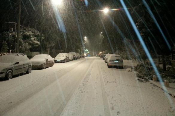 В столице ударят морозы наСтарый Новый год