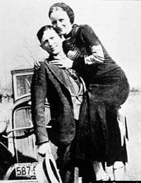 Трагичная романтика Бонни и Клайда