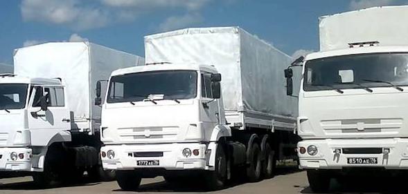 На Донбасс выдвинется еще одна гуманитарная колонна. гуманитарный конвой из России