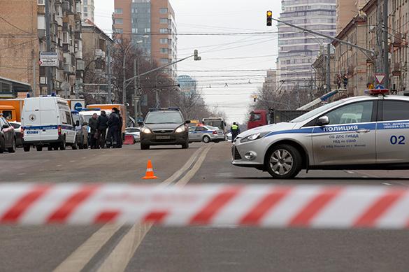 Один шофёр выстрелил вдругого после ДТП вцентре столицы
