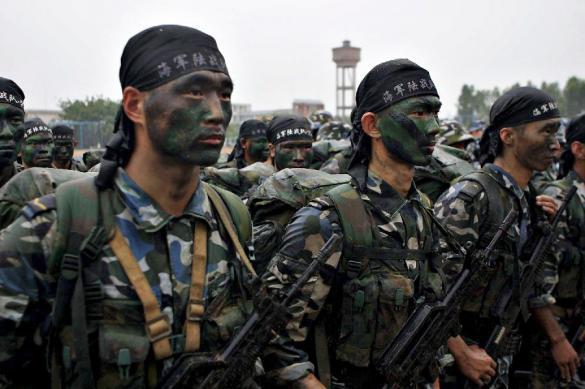 Китай начал небывалые учения морской пехоты. Китай начал небывалые учения морской пехоты